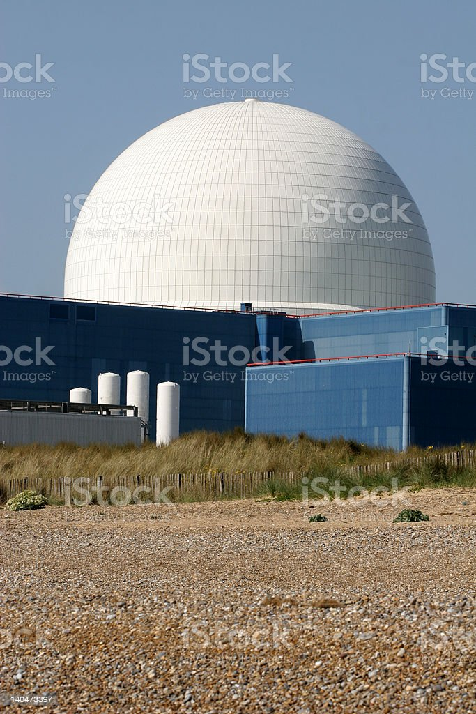 sizewell nuclear power station royalty-free stock photo