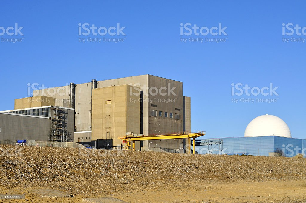 Sizewell royalty-free stock photo