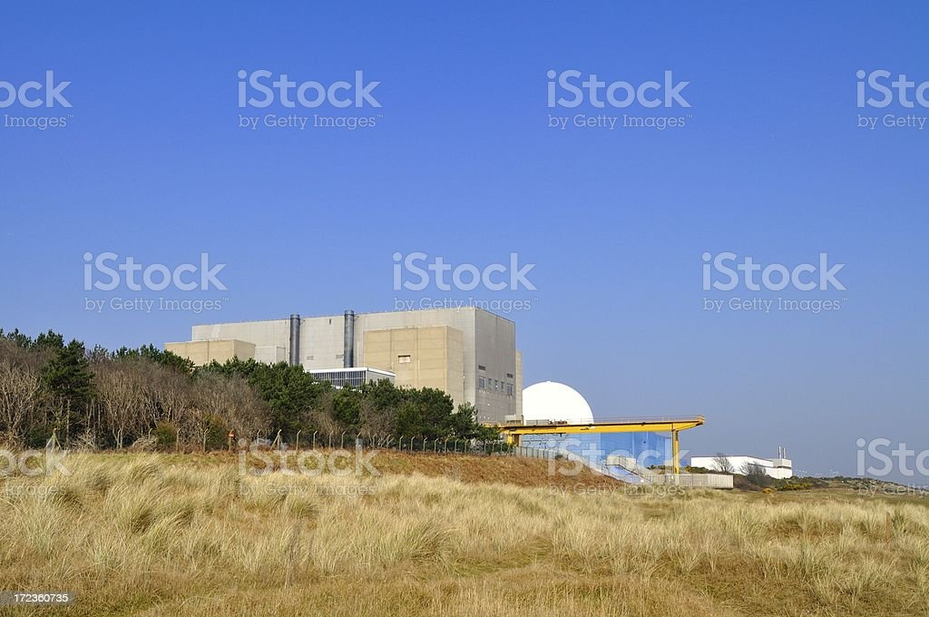 Sizewell power station stock photo
