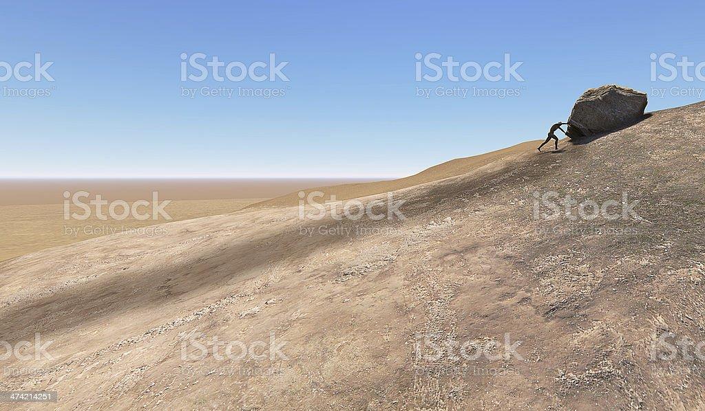 sizif stock photo
