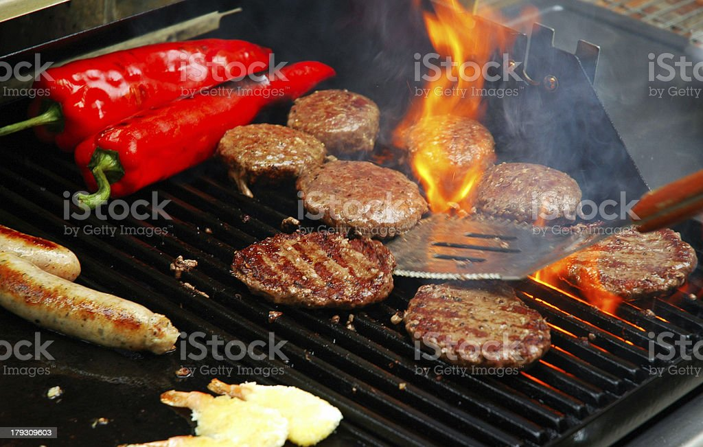 Sizzling Summer Barbecue stock photo