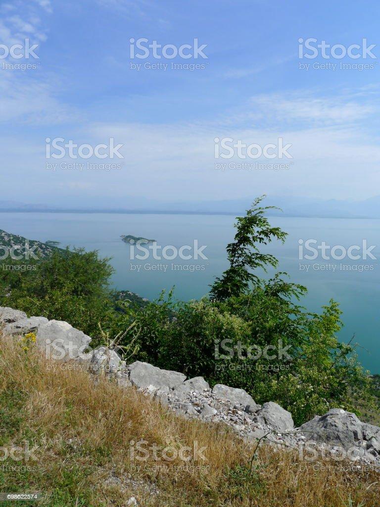 Skadar Lake National Park stock photo