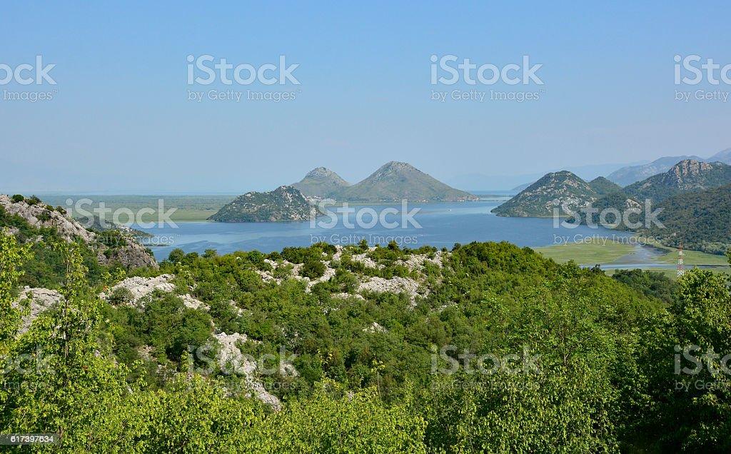 Skadarsko Jezero stock photo