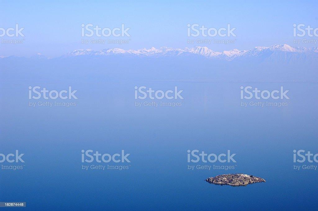 Skadarsko lake stock photo