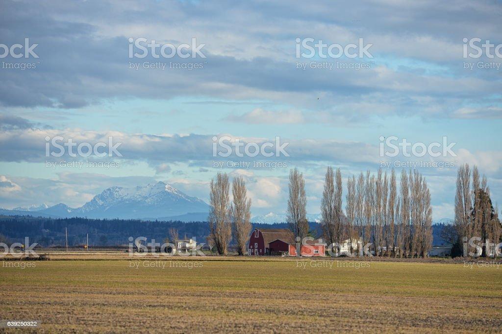 Skagit Valley, Washington stock photo