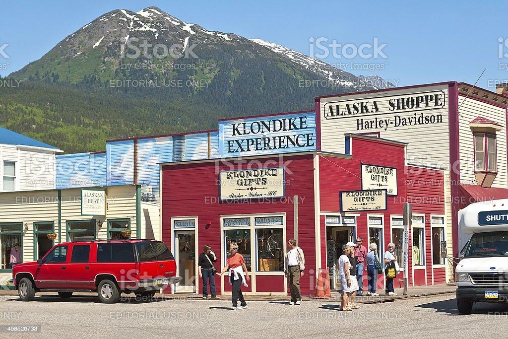 Skagway, Alaska royalty-free stock photo
