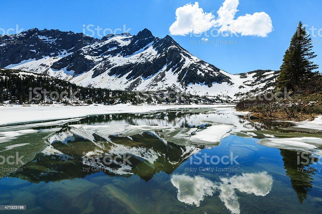 Skagway. Alaska stock photo