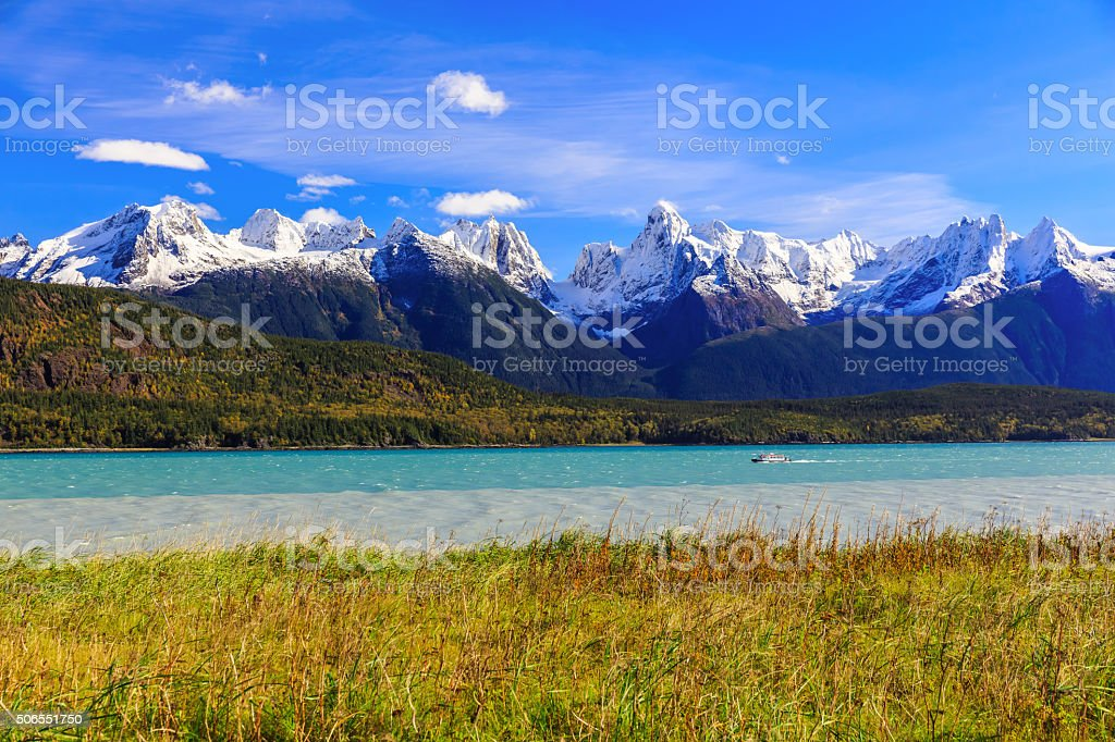Skagway, Alaska stock photo