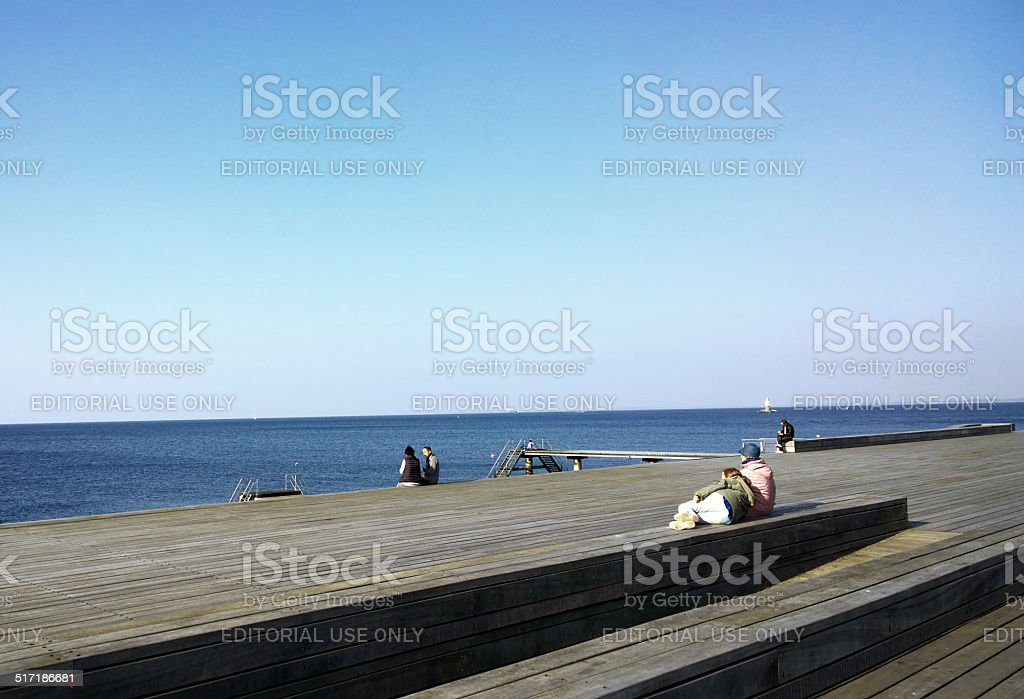 Skaniaparken stock photo