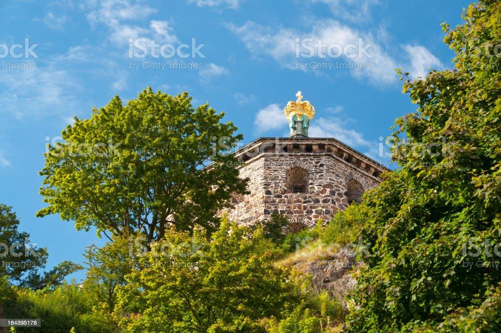 Skansen Kronan in Gothenburg stock photo