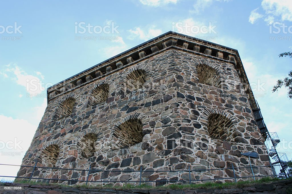 skansen kronan stock photo