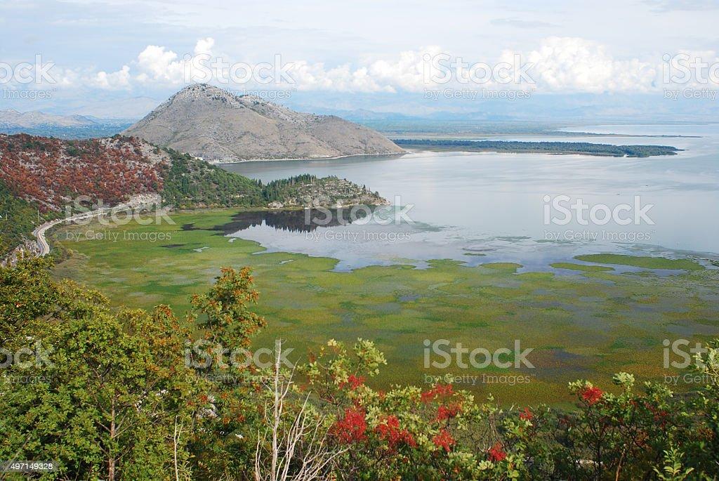 Skardasko jezero stock photo