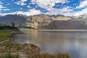 Skardu village landscape in summer, Gilgit, Pakistan