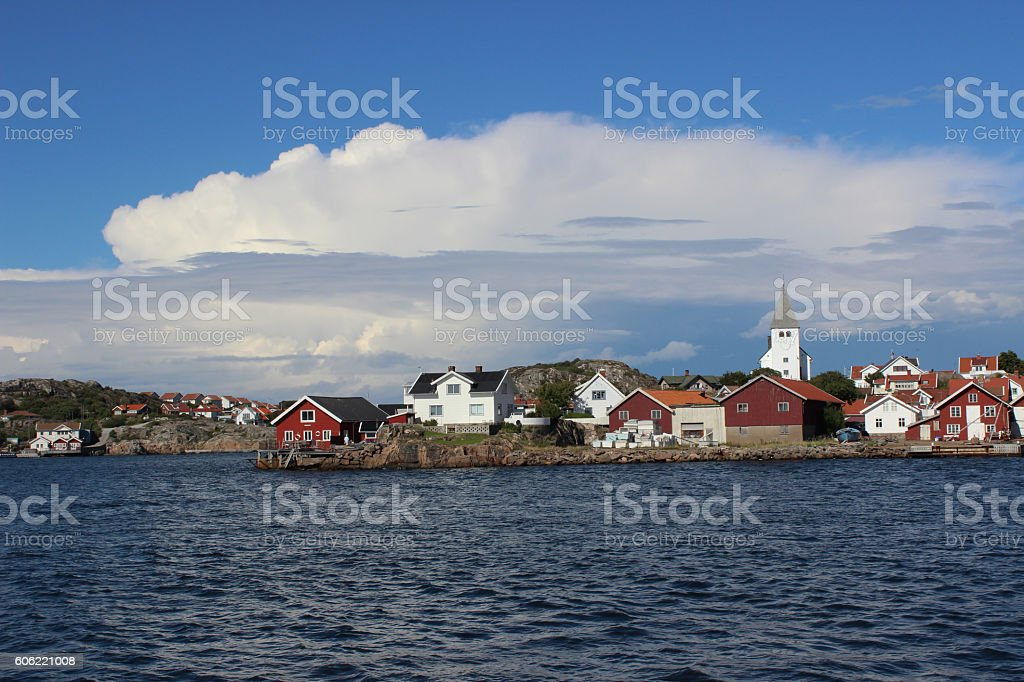 skarhamn stock photo