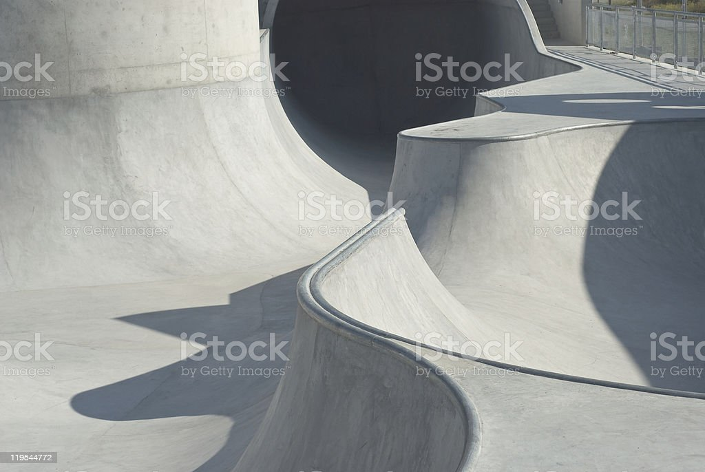 Skate and Bike Park stock photo