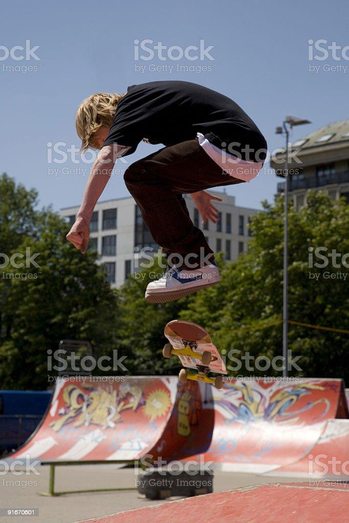 Skate contest in Geneva 2006 royalty-free stock photo