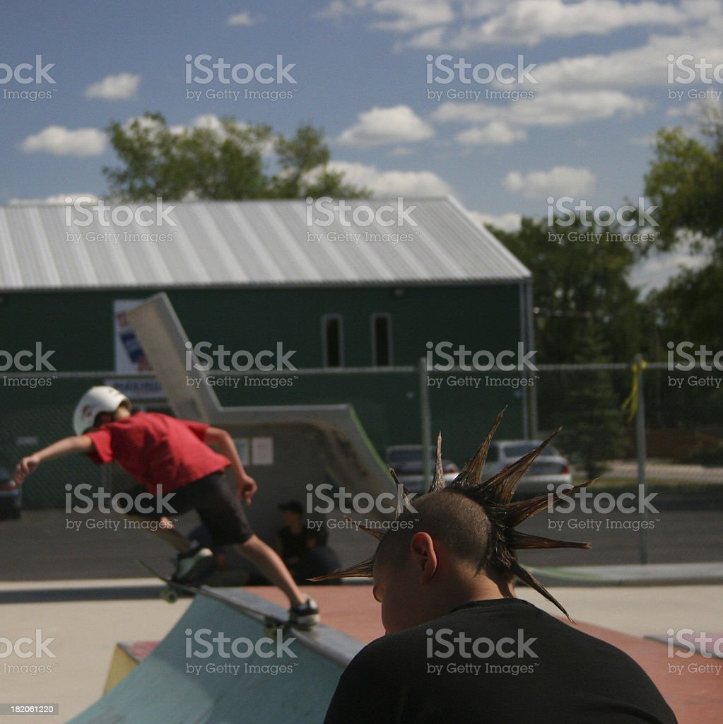 Skate Culture royalty-free stock photo