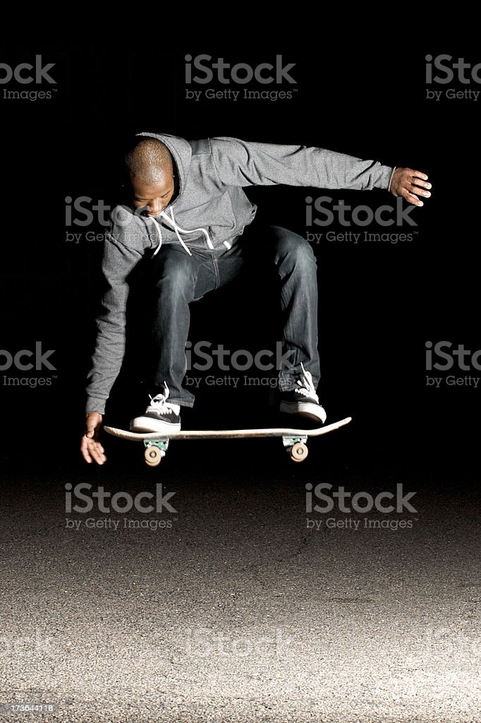 skate grab royalty-free stock photo