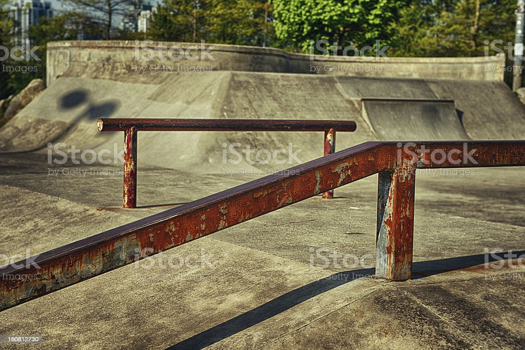 Skate Park HDR royalty-free stock photo