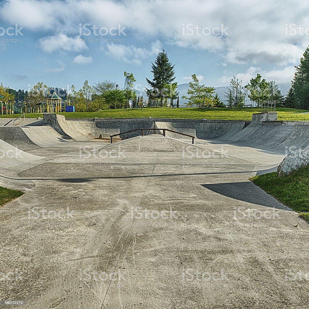 Skate Park royalty-free stock photo