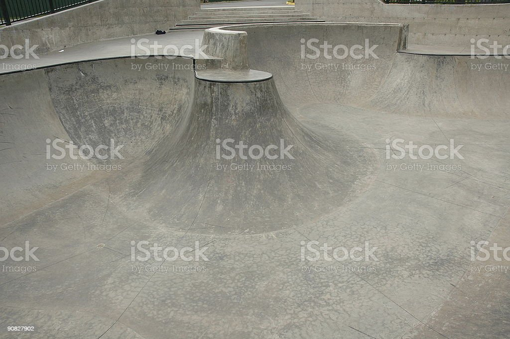 Skate Park royalty-free stock photo