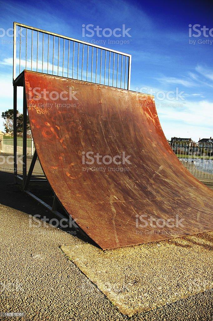 skate ramp2 royalty-free stock photo