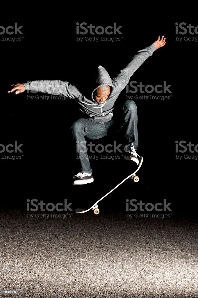 skate trick royalty-free stock photo
