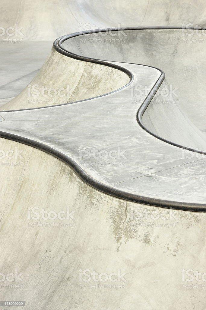 Skateboard BMX Stunt Park stock photo