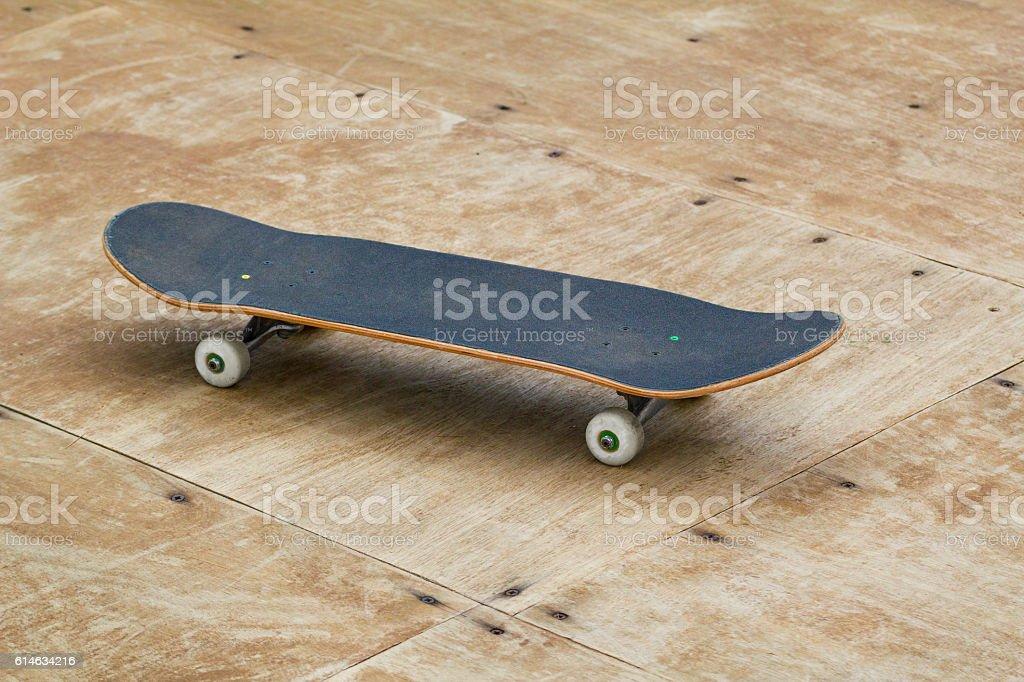 Skateboard deck stock photo