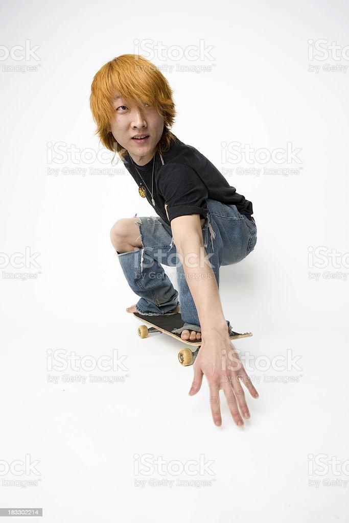 Skateboard Kid Skating royalty-free stock photo