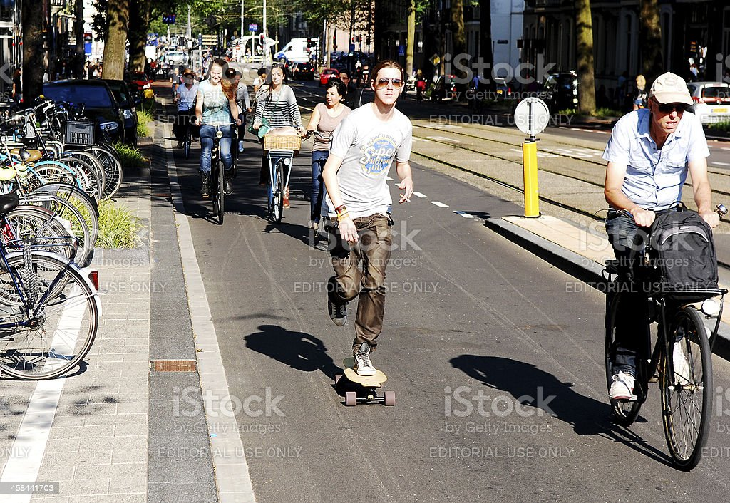 Skateboard King royalty-free stock photo