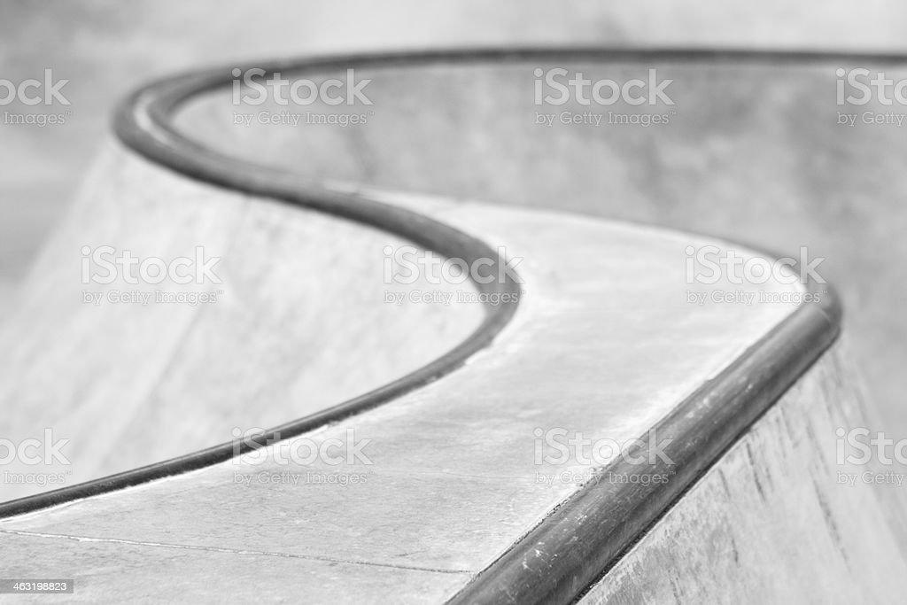 Skateboard Park BMX Stunt Bike Track stock photo