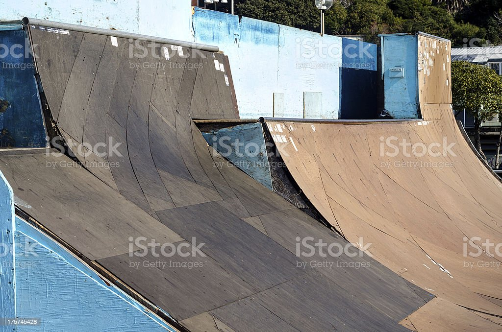 skateboard park royalty-free stock photo
