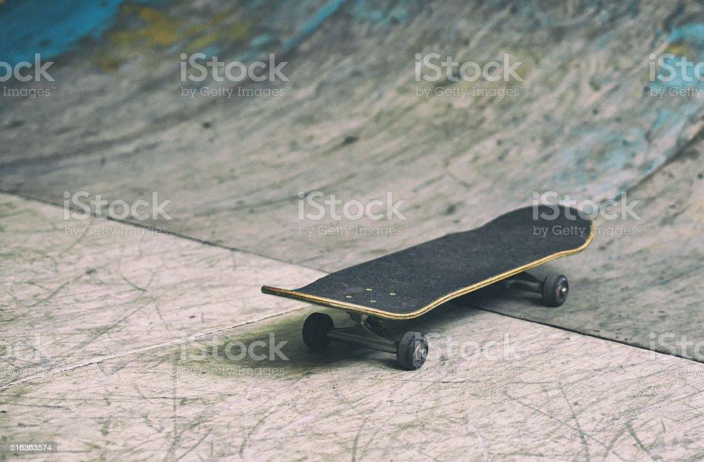 Skateboard retro style photo stock photo