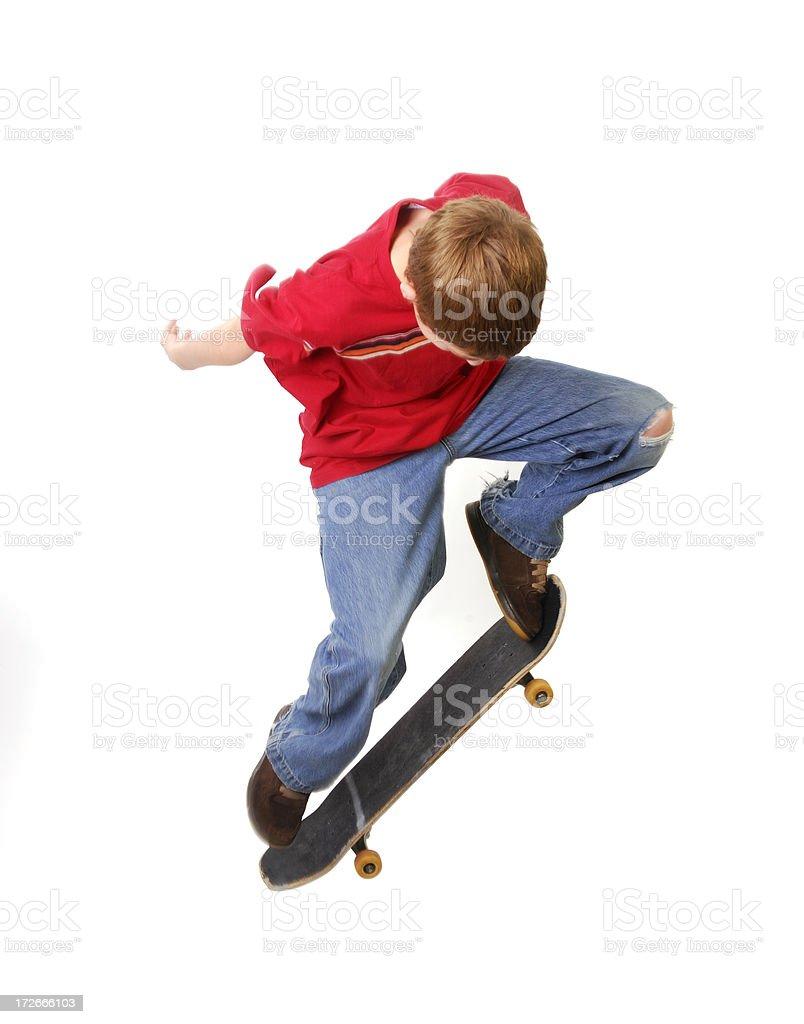 Skateboard Stunts royalty-free stock photo
