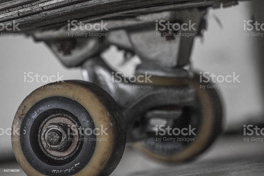 Skateboard Trucks stock photo