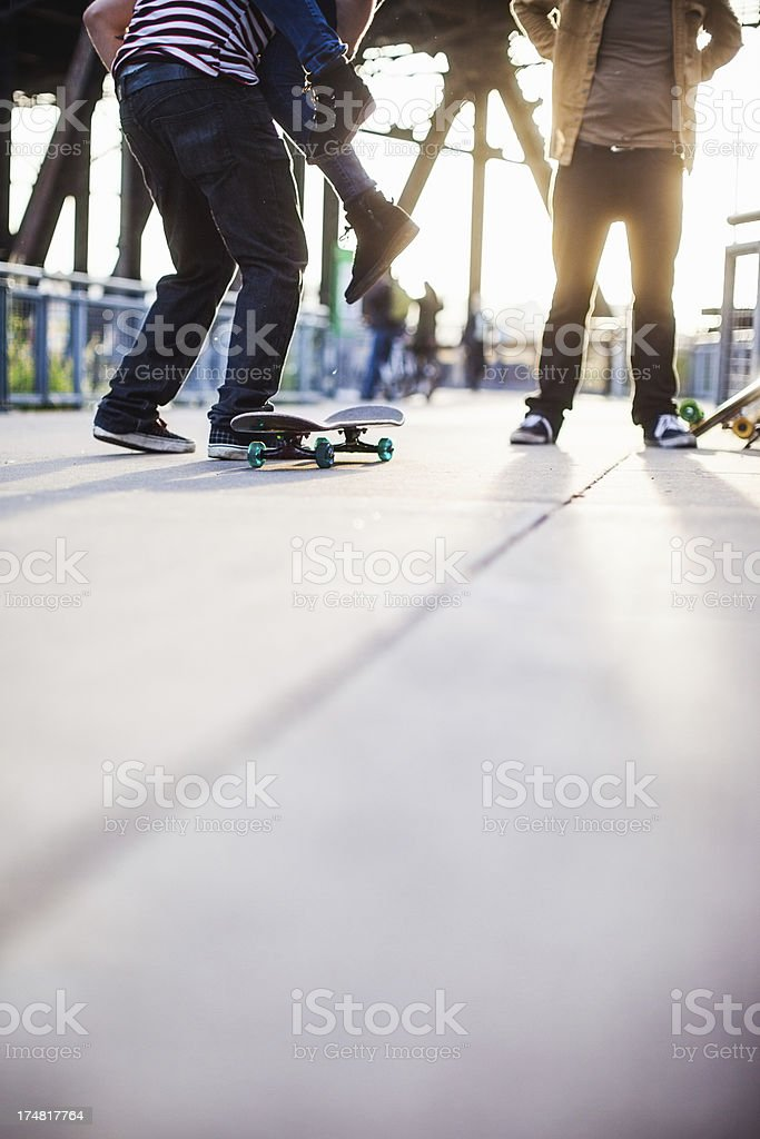 Skateboard Youth Culture royalty-free stock photo
