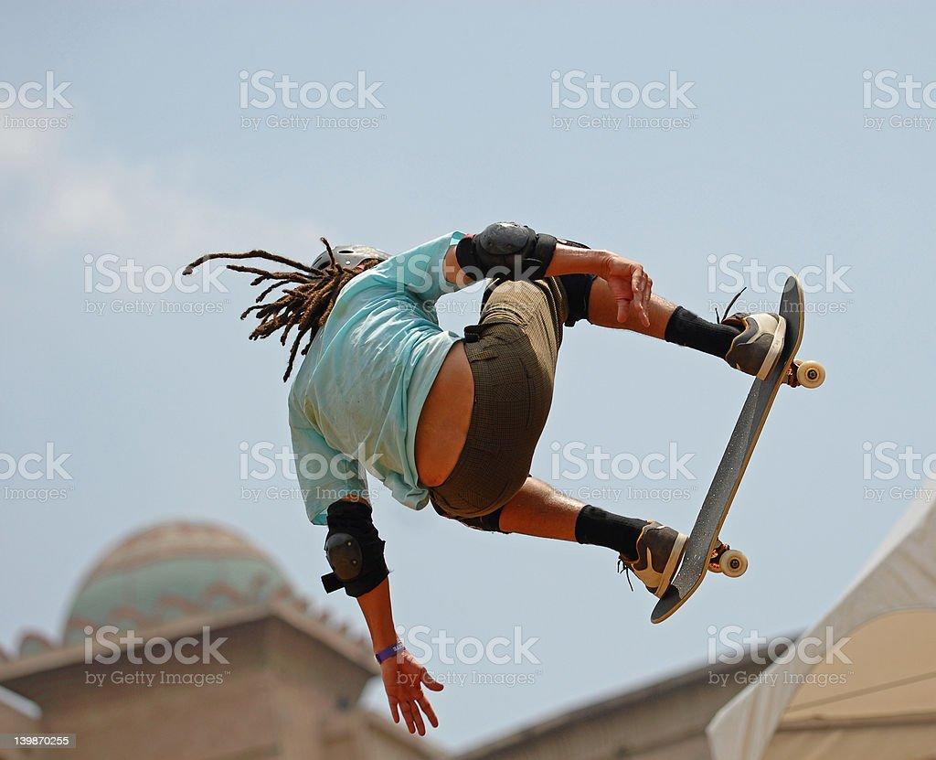 skateboarder royalty-free stock photo