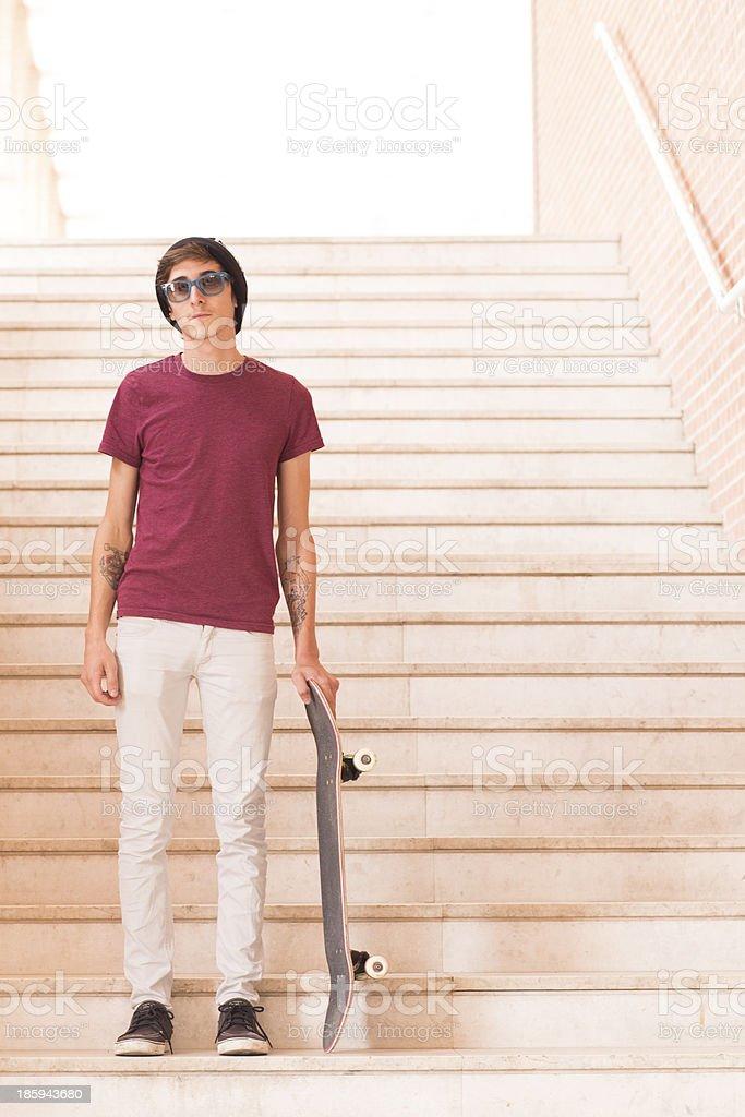 Skateboarder portraits royalty-free stock photo