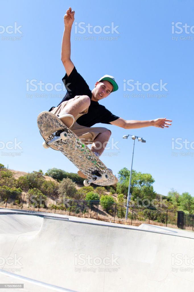 Skateboarding Trick royalty-free stock photo
