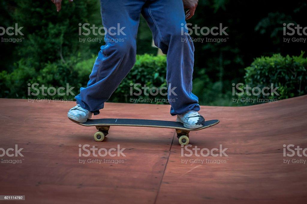 skatebord stock photo