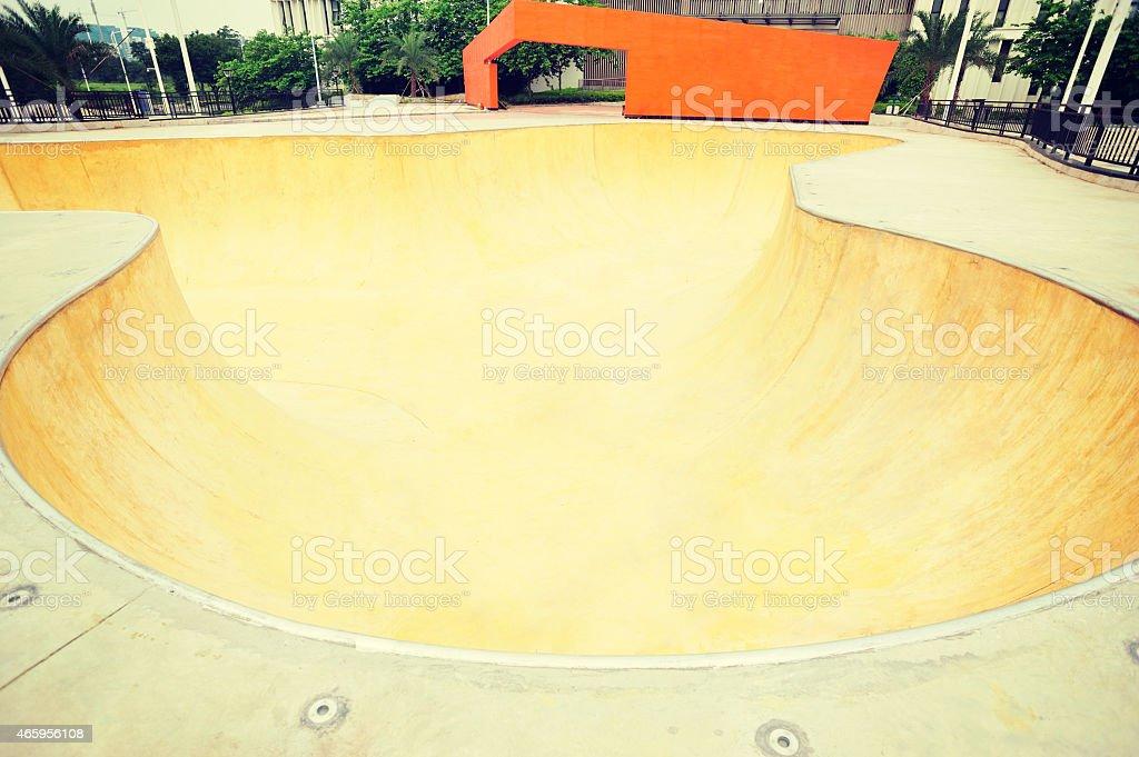 skatepark stock photo