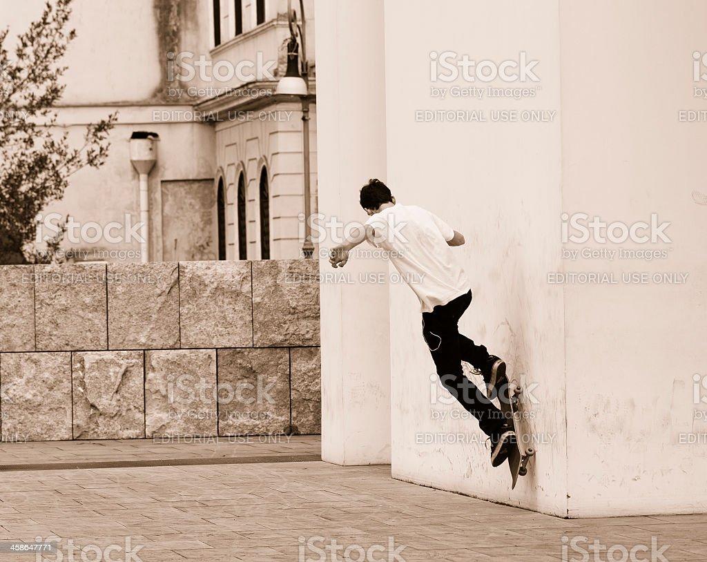 Skater Boy stock photo