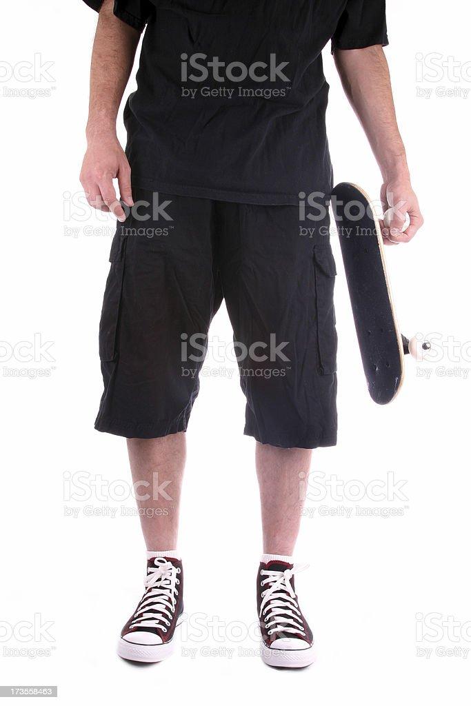 Skater Dude royalty-free stock photo