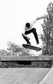 skater flip jump