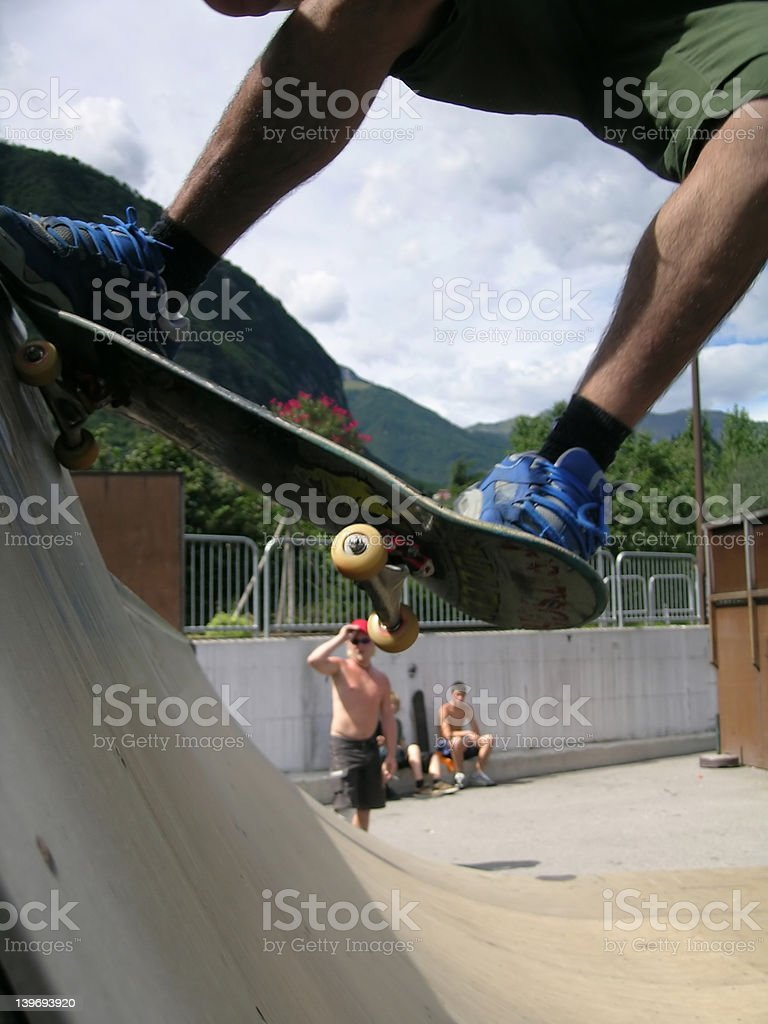 skater royalty-free stock photo