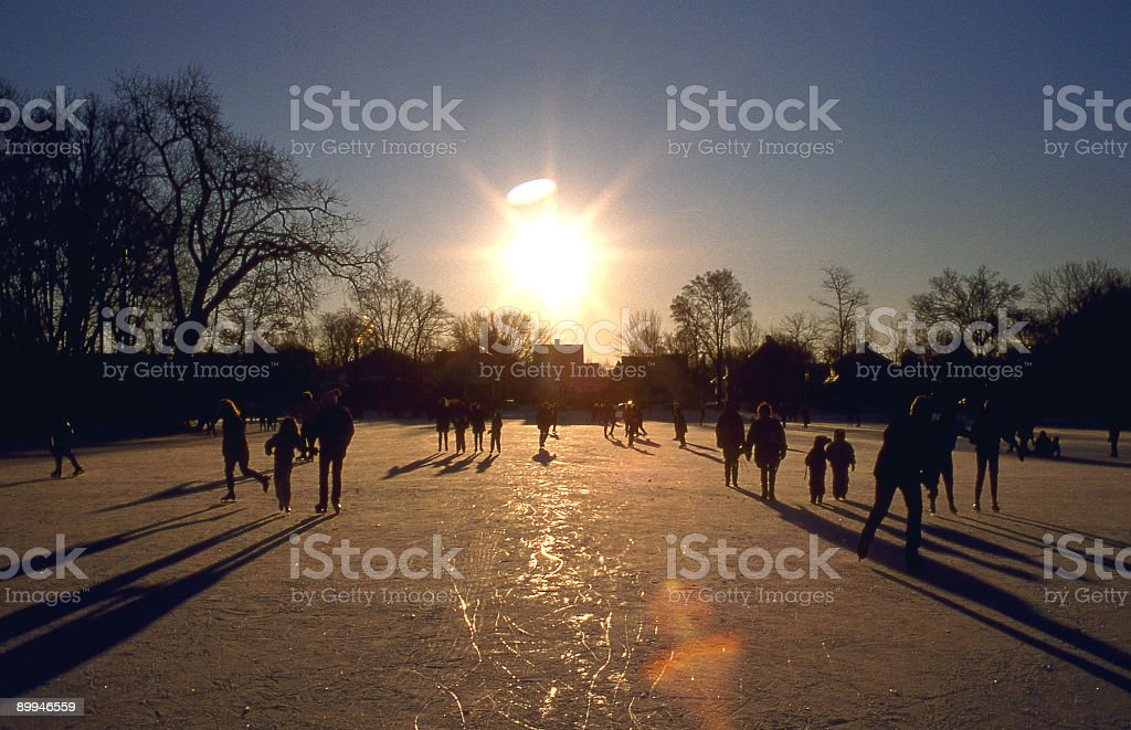 Skaters royalty-free stock photo