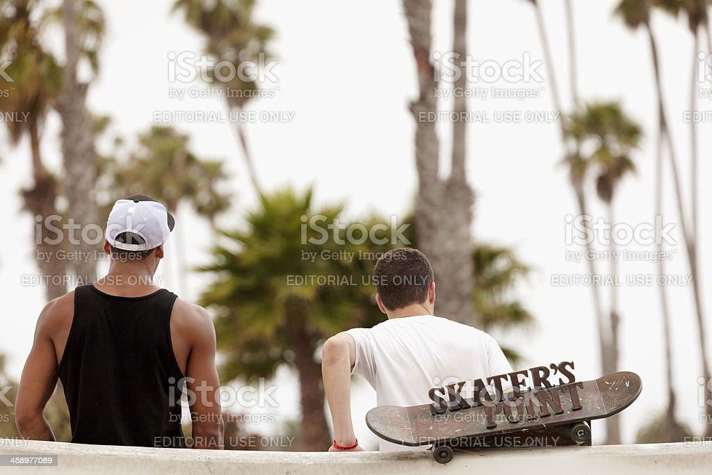 Skater's Point royalty-free stock photo