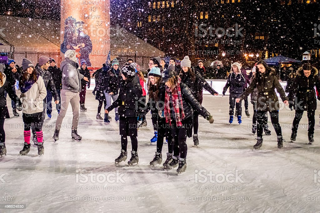 Skating Fun stock photo