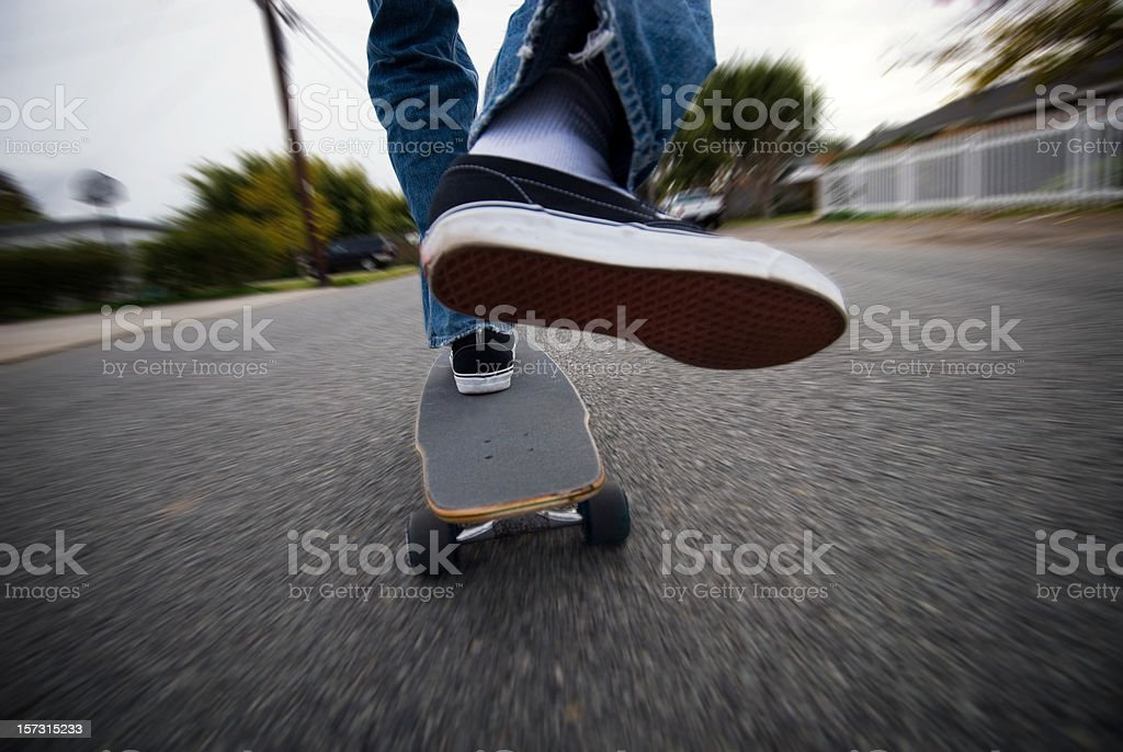 Skating stock photo